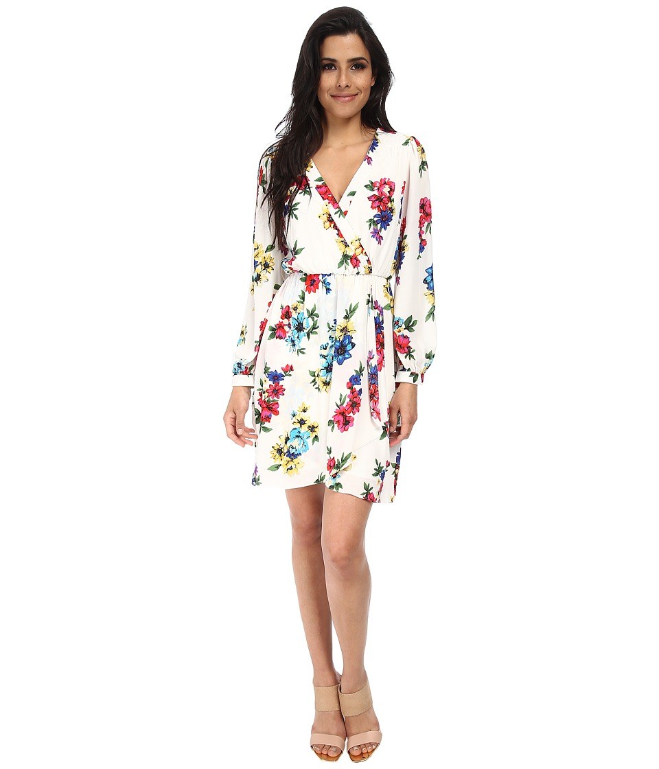 Brigitte Bailey - Demri Lux Dress (Spring White Floral) Women's Dress
