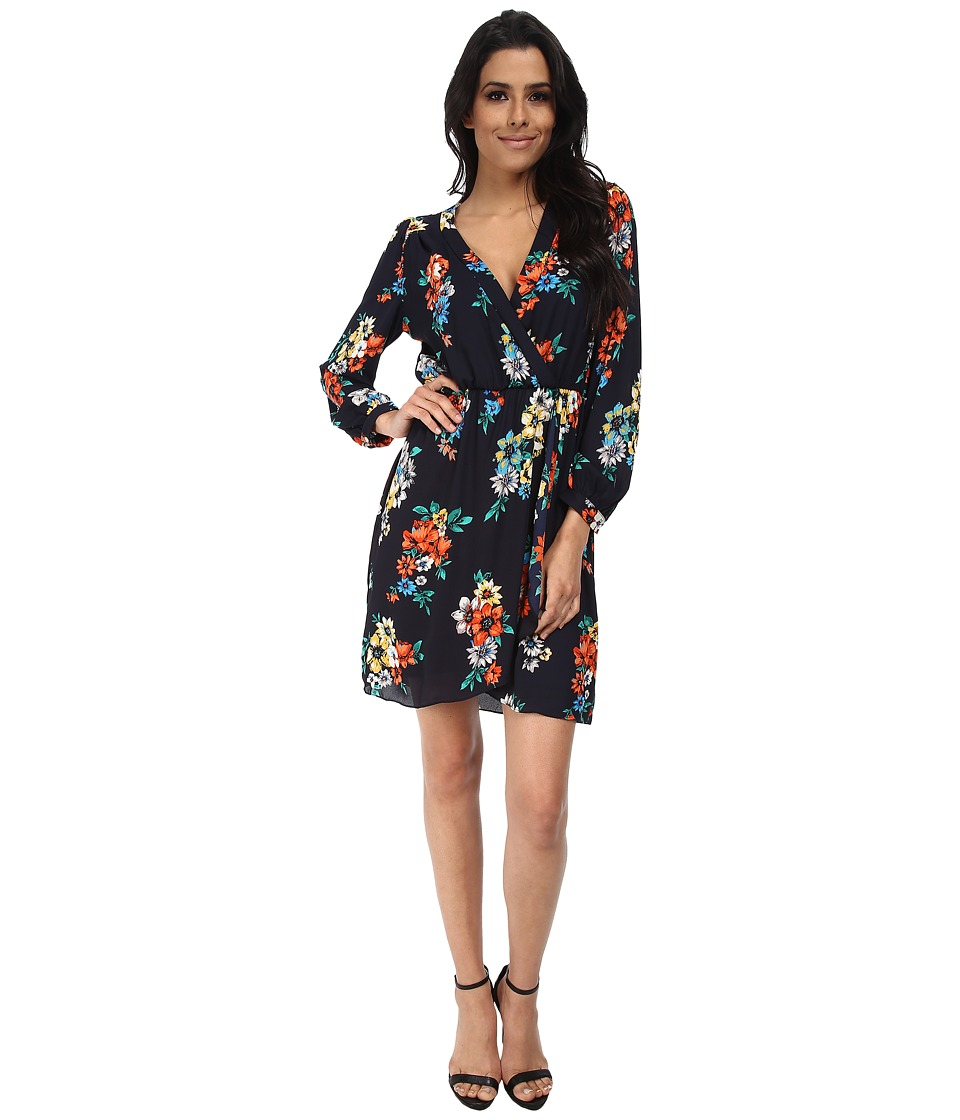 Brigitte Bailey - Demri Dress (Spring Navy Floral) Women's Dress