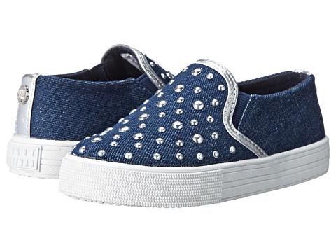 Stuart Weitzman Kids - Vance Eden Stud-T (Toddler/Little Kid) (Dark Blue Denim) Girls Shoes