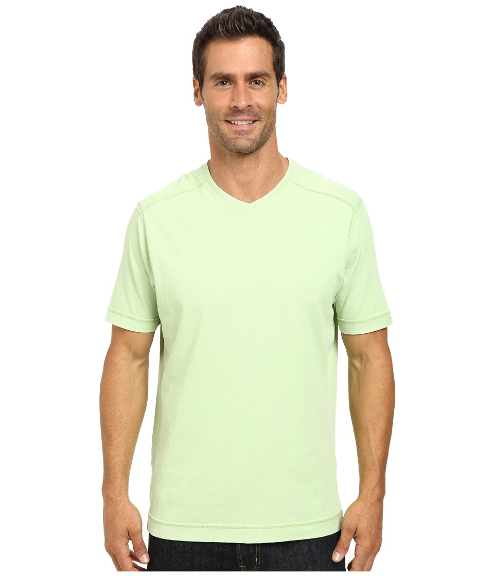Tommy Bahama - Cohen V-Neck (Cucumber Salad) Men's Short Sleeve Pullover
