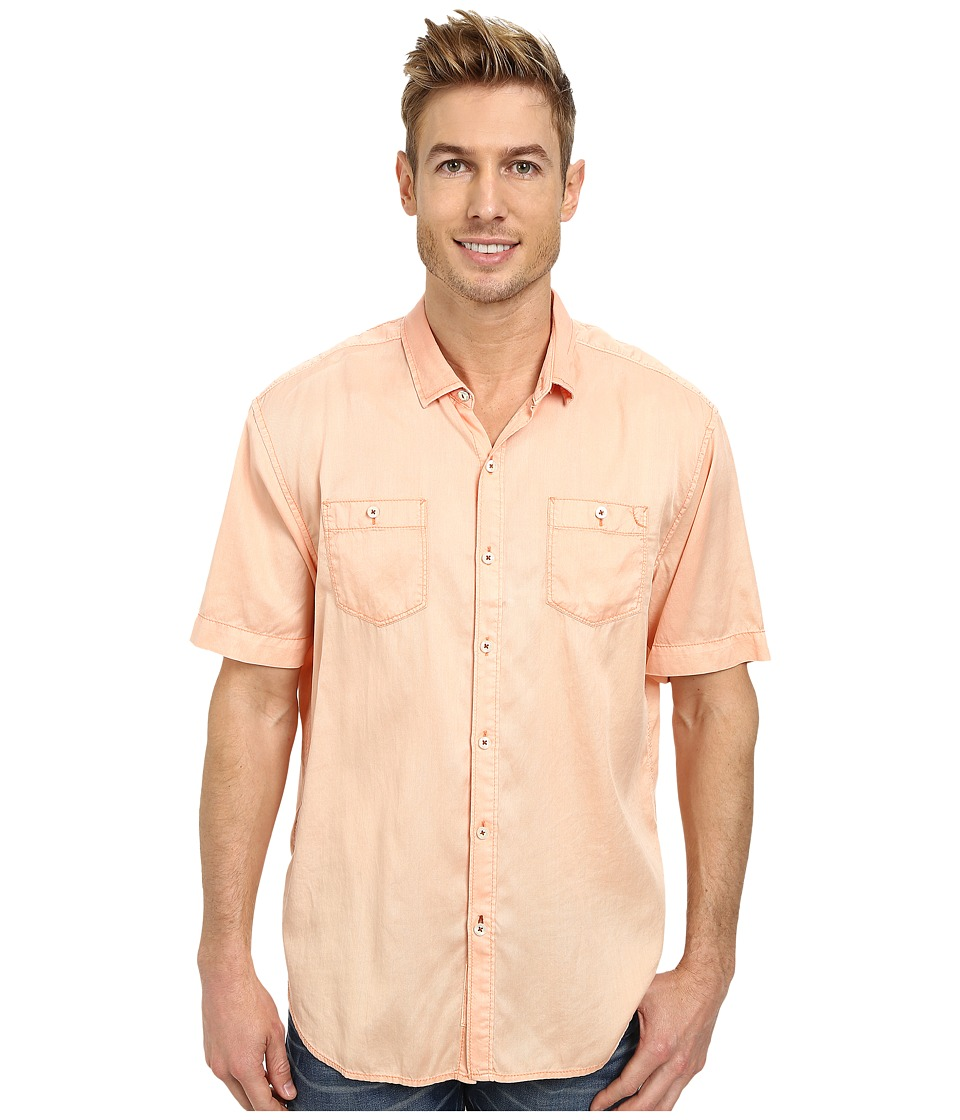 Tommy Bahama - New Twilly Junior S/S (Peach Ice) Men's Clothing