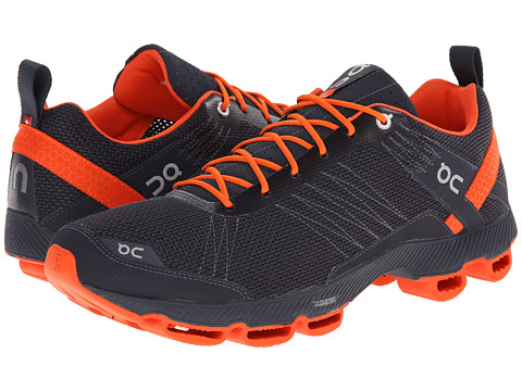 On - Cloudsurfer (Dark/Flame) Men's Running Shoes