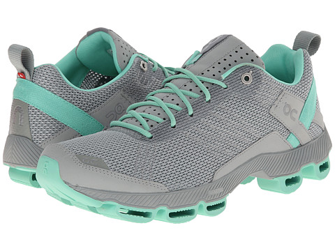 On - Cloudsurfer (Fog/Mint) Women's Running Shoes