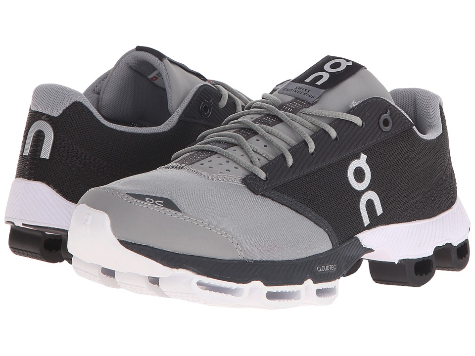 On - Cloudster (Black/White) Women's Running Shoes