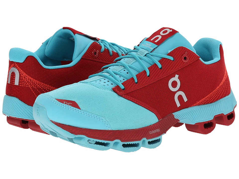 On - Cloudster (Chili/Curacao) Women's Running Shoes