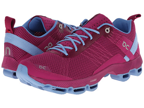 On - Cloudsurfer (Fuchsia/Azure) Women