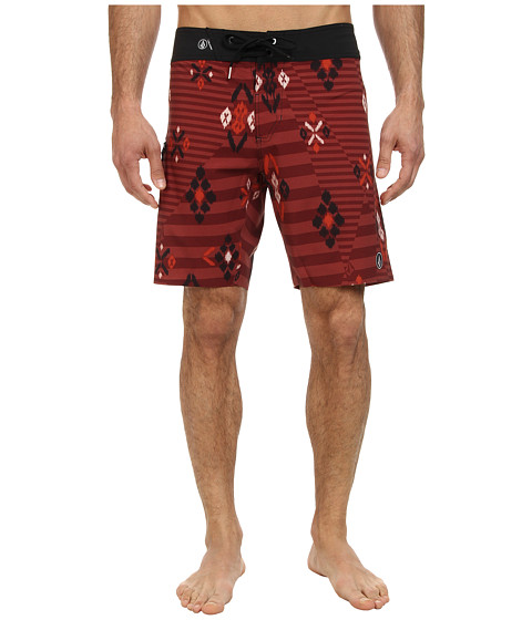 Volcom - Rando Mod (Burnt Sienna) Men's Swimwear