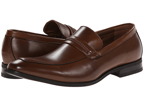 Kenneth Cole Unlisted - Full Grown (Cognac) Men's Slip on Shoes