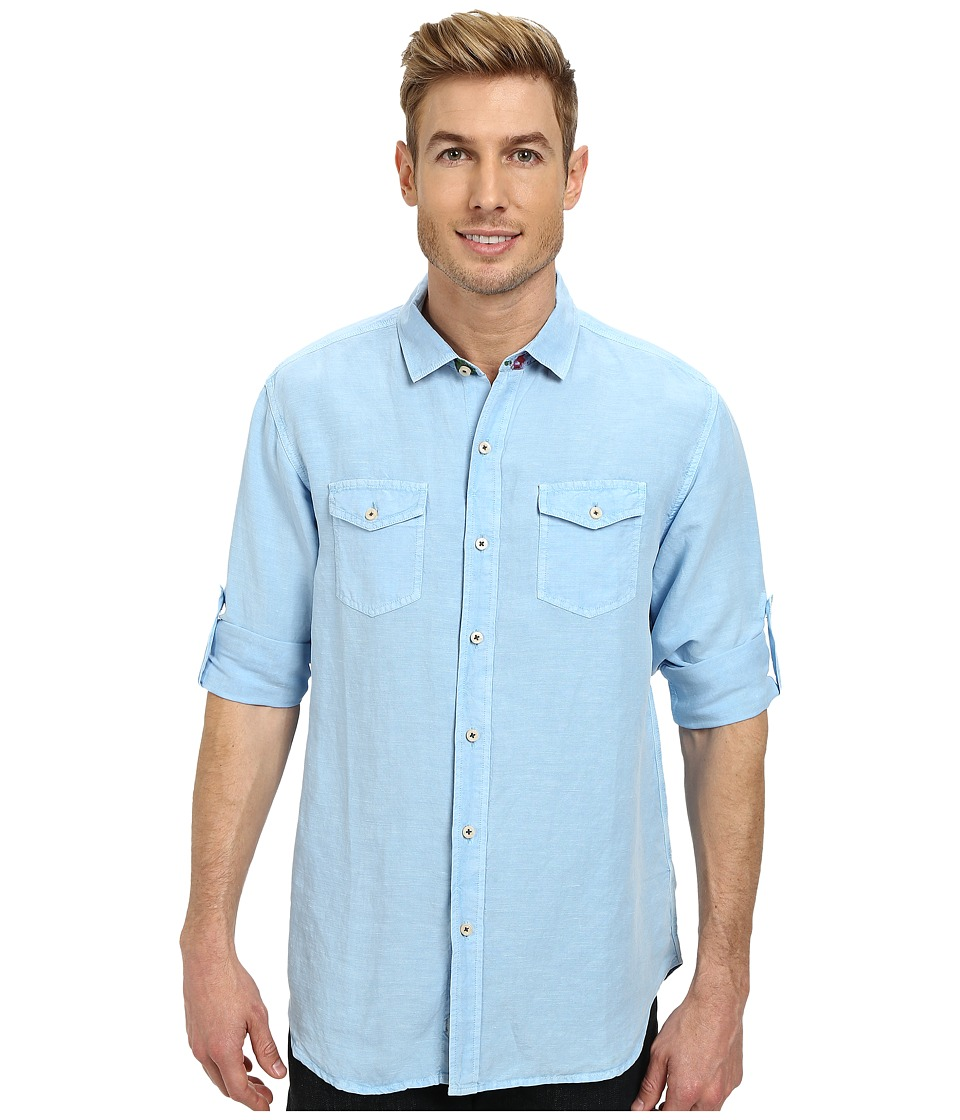 Tommy Bahama - New Sand Linen L/S (Vessel) Men's Clothing
