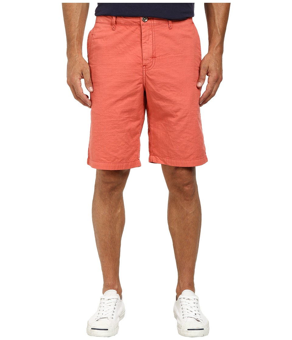 Tommy Bahama - Eastbank Flat Front Short (Red Ginger) Men's Shorts