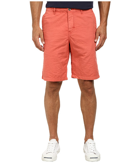Tommy Bahama Denim - Eastbank Flat Front Short (Red Ginger) Men