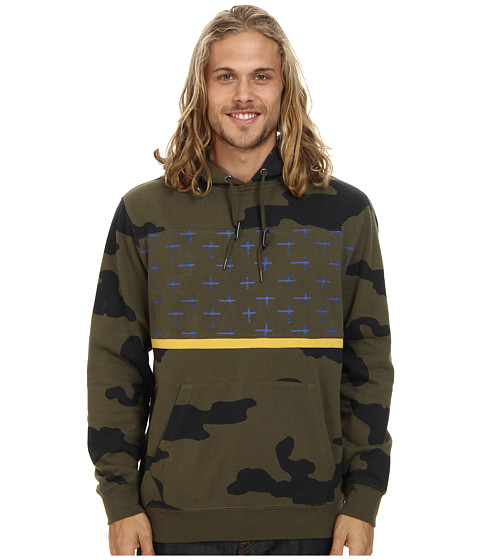 Volcom - Krank Pullover (Fatigue Green) Men