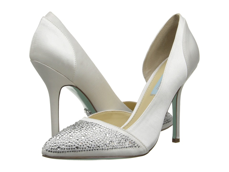 Blue by Betsey Johnson - Band (Ivory Satin) High Heels