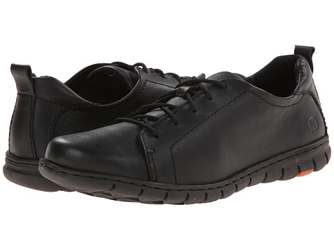 Born - Kester (Black Full Grain Leather) Women's Lace up casual Shoes