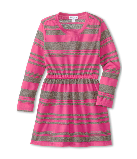 Splendid Littles - Jersey Lurex Dress (Toddler) (Hot Pink) Girl