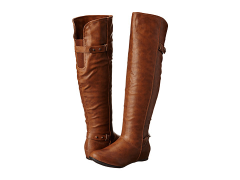 Call it SPRING - Ybien (Cognac) Women's Pull-on Boots