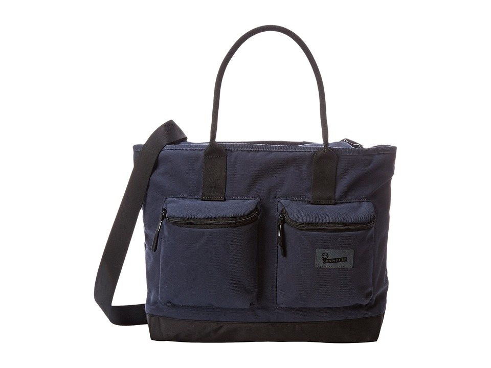 Crumpler - The Leaked Memorandum Cargo Laptop Tote (Midnight Blue) Computer Bags
