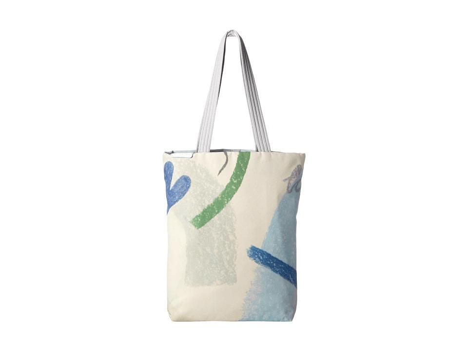 Crumpler - Spinning Vortex Laptop Tote (Chalk) Tote Handbags