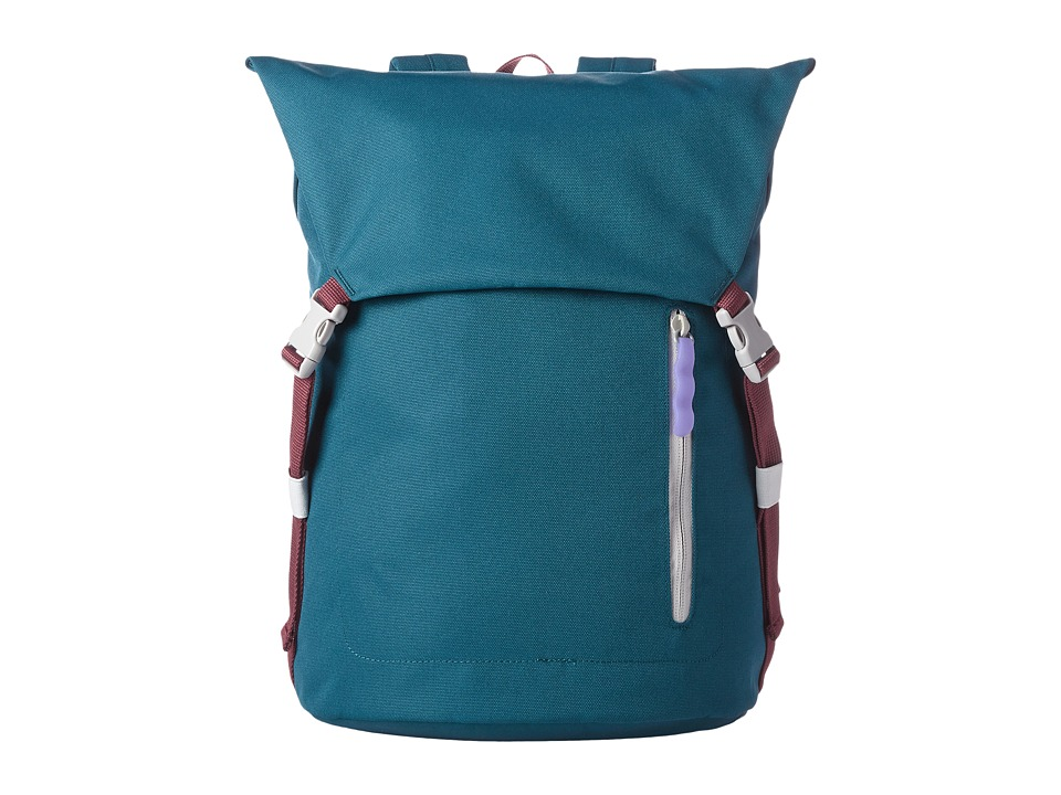 Crumpler - Spinning Vortex Laptop Backpack (Peacock) Backpack Bags