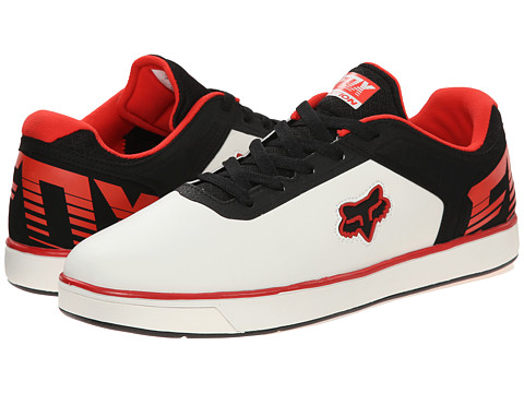 Fox - Motion Transfer (White/Black/Red) Men's Shoes