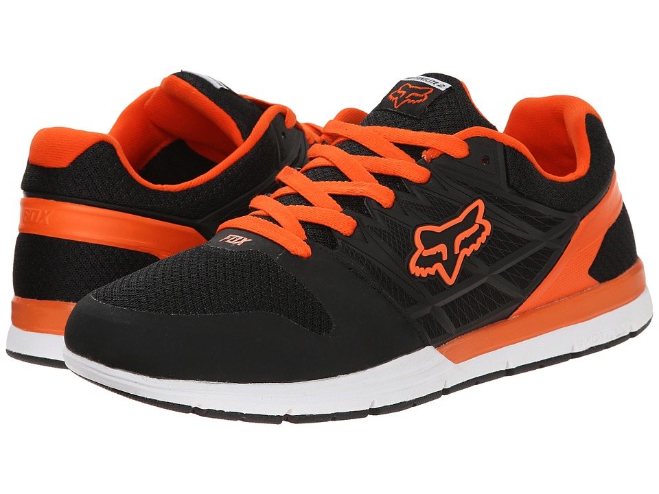 Fox - Motion Elite 2 (Black/White/Orange) Men's Shoes