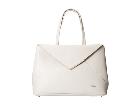 Furla - Kelis Medium East/West Tote (Opale) Tote Handbags