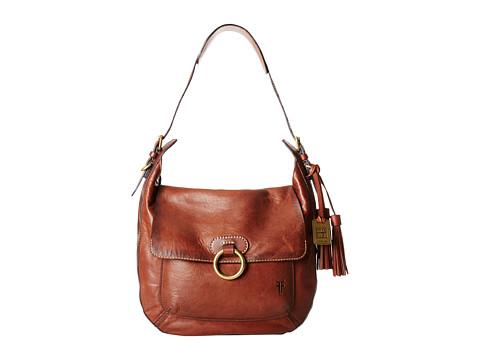 Frye - Esther Ring Hobo (Brown Antique Lambskin) Hobo Handbags