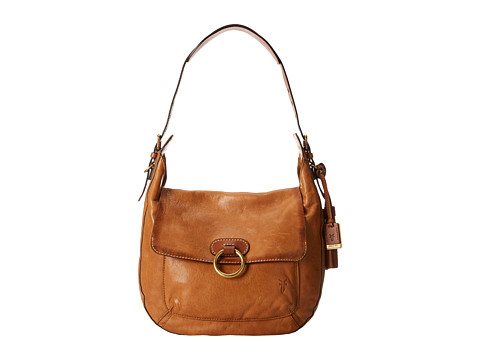Frye - Esther Ring Hobo (Tan Antique Lambskin) Hobo Handbags