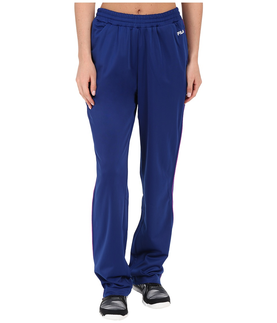 Fila - Work It Out Track Pant (Twilight/Purple Cactus Flower) Women's Casual Pants
