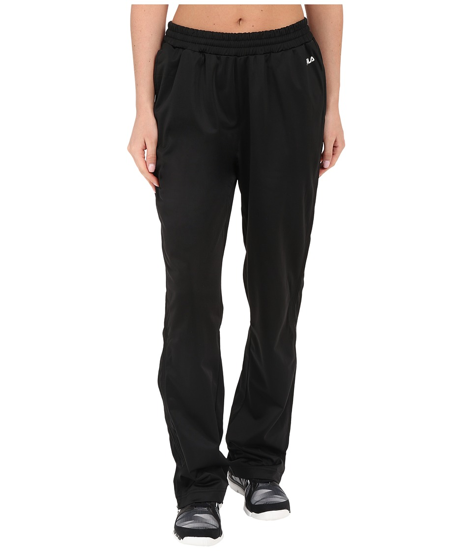 Fila - Work It Out Track Pant (Black/Black/White Multi Snake) Women's Casual Pants