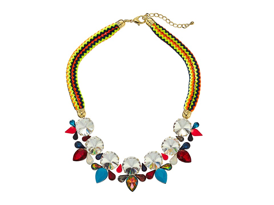 Gypsy SOULE - DN582 (Blue/Pink/Yellow) Necklace