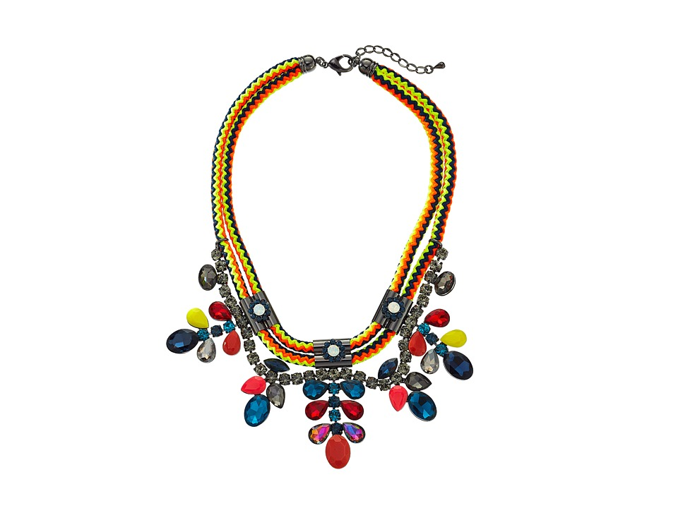 Gypsy SOULE - DN568 (Blue/Pink/Yellow) Necklace