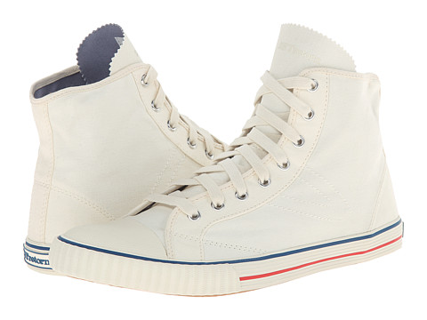 Tretorn - Hockeyboot Canvas (Antique White) Women's Shoes