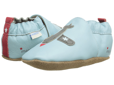 Robeez - Ryan Soft Soles (Infant/Toddler) (Baby Blue) Boy