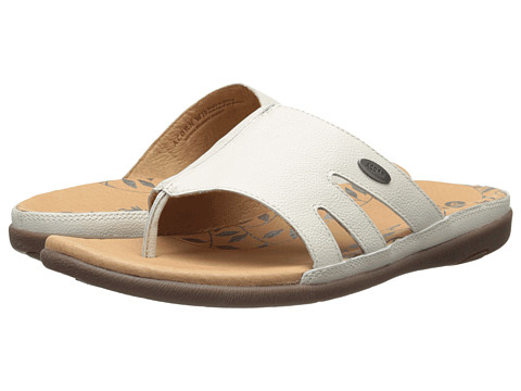Acorn - Prima Cutaway Thong (Bone) Women's Shoes