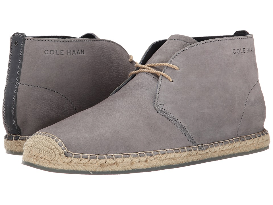 Cole Haan - Camden Chukka (Steel Grey) Men's Lace-up Boots