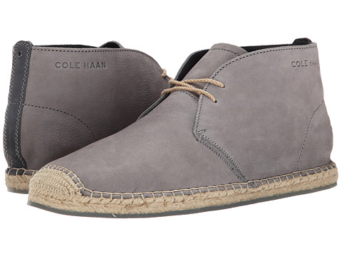 Cole Haan - Camden Chukka (Steel Grey) Men