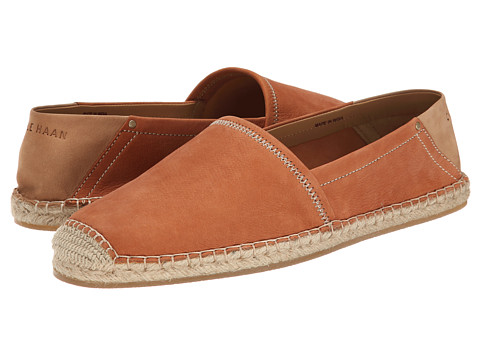 Cole Haan - Camden Espadrille (British Tan) Men's Slip on Shoes