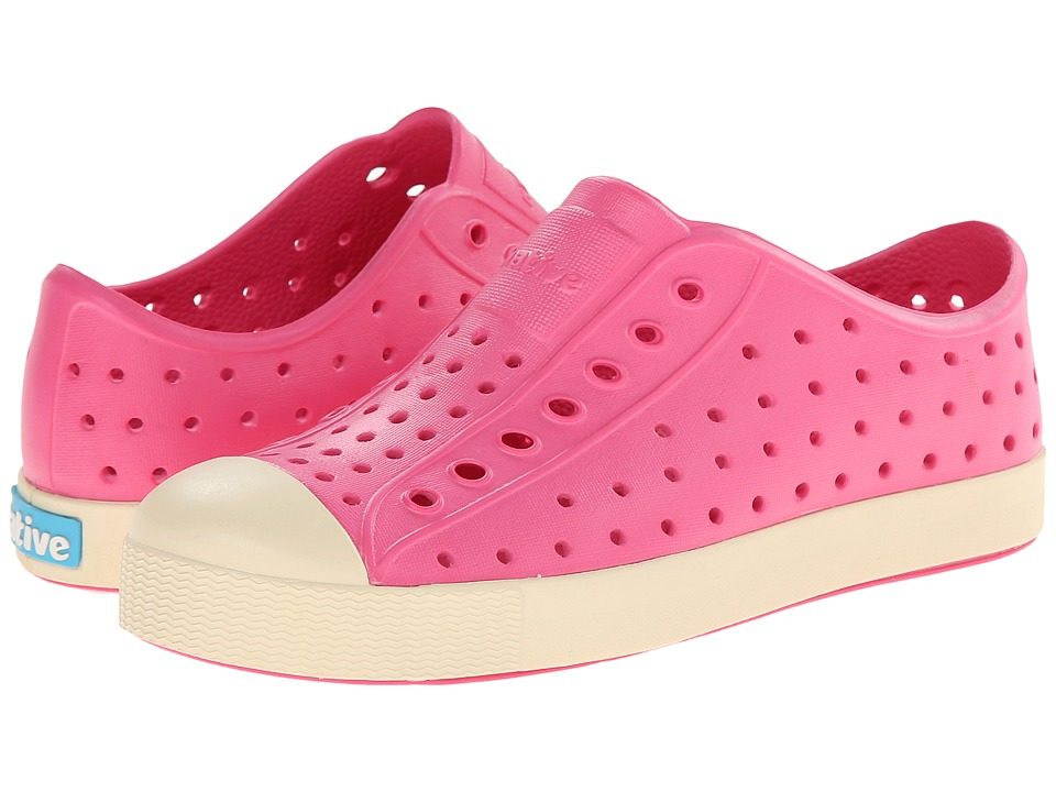 Native Kids Shoes - Jefferson (Little Kid/Big Kid) (Hollywood Pink) Girl's Shoes