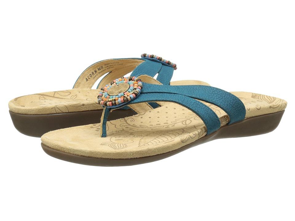Acorn - Samoset Thong (Lagoon) Women's Shoes