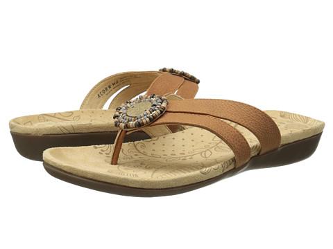 Acorn - Samoset Thong (Teak) Women's Shoes