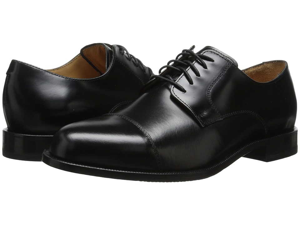 Cole Haan - Carter Grand Cap (Black) Men's Lace Up Cap Toe Shoes
