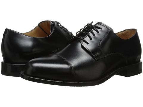 Cole Haan - Carter Grand Cap (Black) Men's Lace Up Cap Toe Shoes