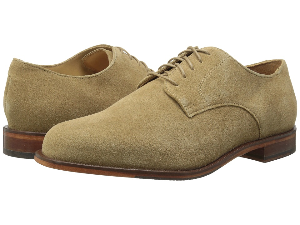 Cole Haan - Carter Grand Plain (Milkshake Suede) Men's Plain Toe Shoes