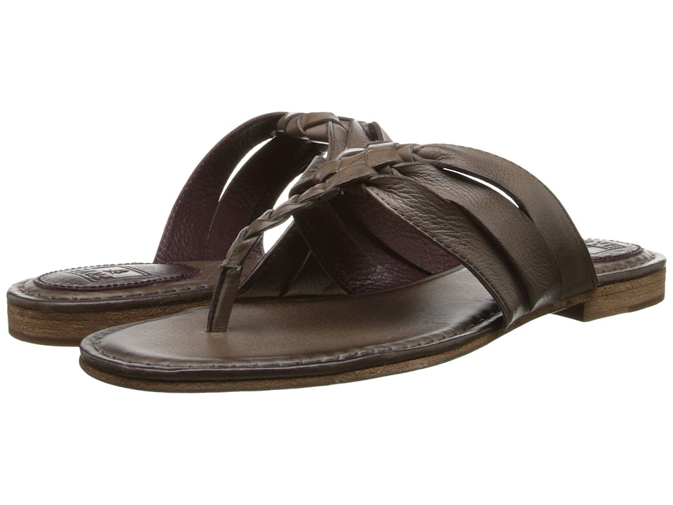 Frye - Carson Twisted (Grey Soft Vintage Leather) Women's Sandals