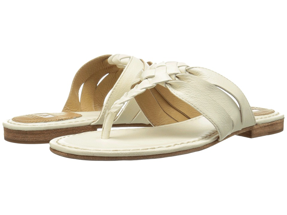 Frye - Carson Twisted (Off White Soft Vintage Leather) Women's Sandals