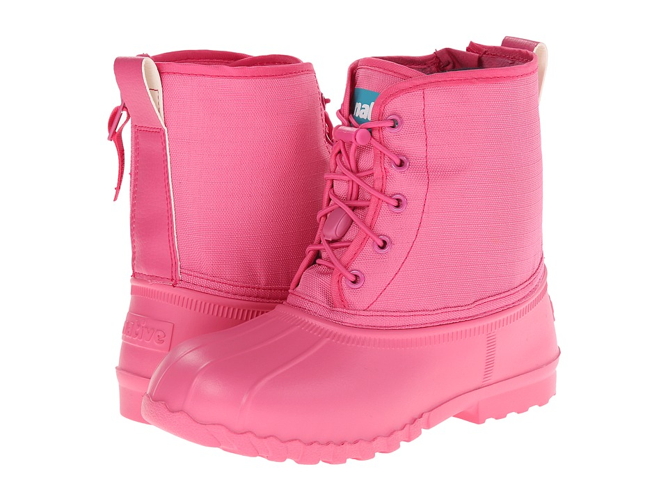Native Kids Shoes - Jimmy (Little Kid) (Hollywood Pink) Girl