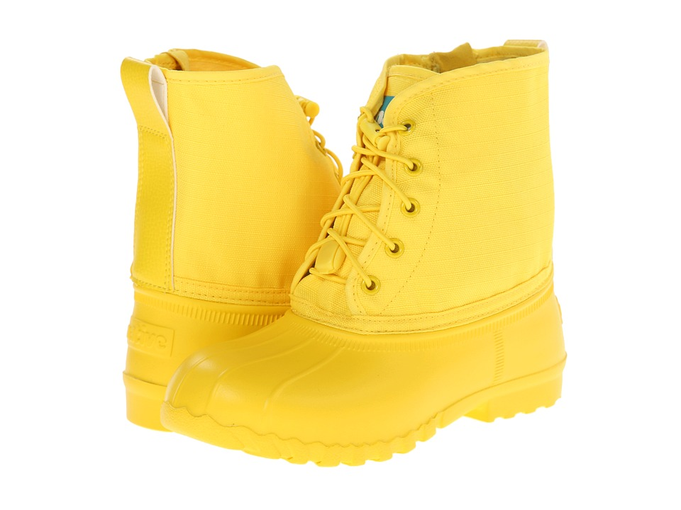 Native Kids Shoes - Jimmy (Little Kid) (Crayon Yellow) Kid's Shoes