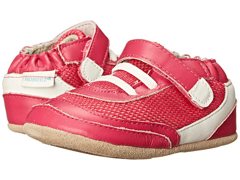Robeez - Fast Frannie Mini Shoez (Infant/Toddler) (Hot Pink) Girl's Shoes
