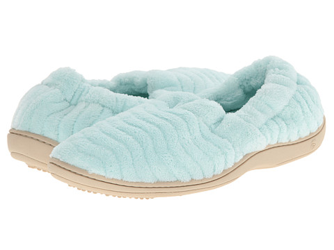 Acorn - Spa Support Moc (Mint) Women's Slippers